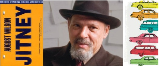 August Wilson's Jitney collage