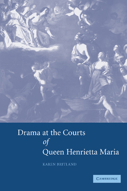 Drama at the Courts of Queen Henrietta Maria cover