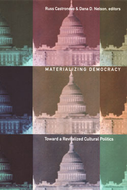 Materializing Democracy: Toward a Revitalized Cultural Politics cover