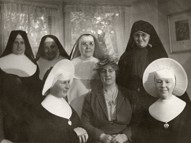 Nuns with Helen C. White
